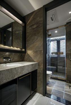 130平米精裝修洗手臺鏡子圖片