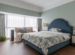 130平米精裝修淡雅溫馨臥室圖片