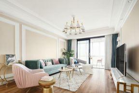美式客廳布置 美式客廳布局