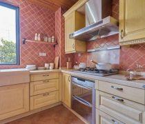 欧式古典家装厨房墙砖效果图2018