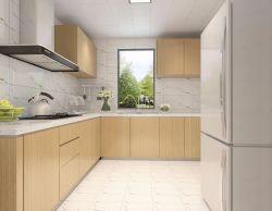 120平米三居室現代簡約風格裝修廚房效果圖