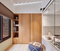 九十平米新房封闭式阳台设计图