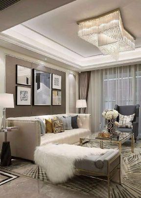新古典客厅装修风格 2018新古典客厅装修风格图片