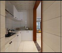 2018现代简约风格厨房墙砖设计效果图