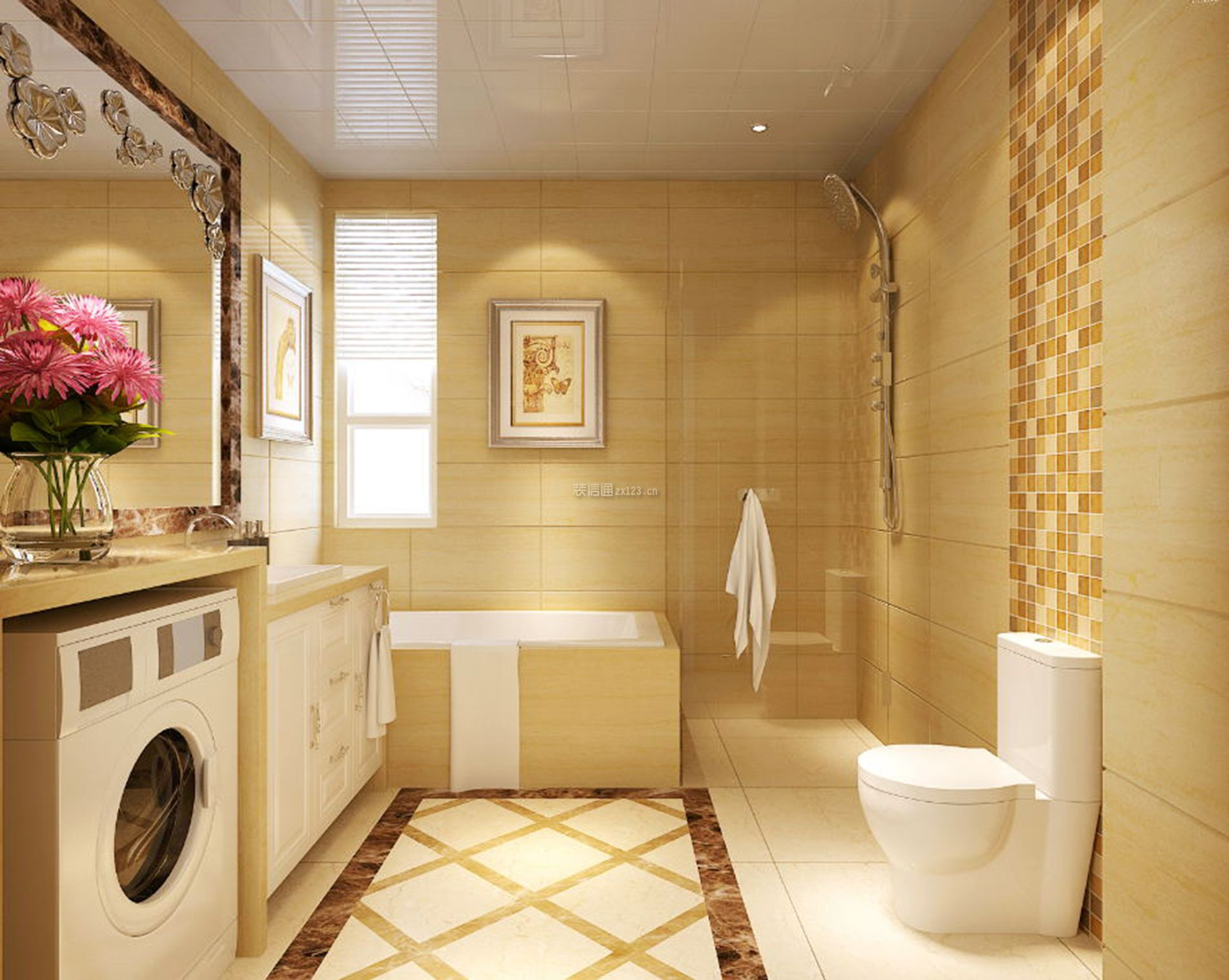 厕所 家居 设计 卫生间 卫生间装修 装修 1904_1519