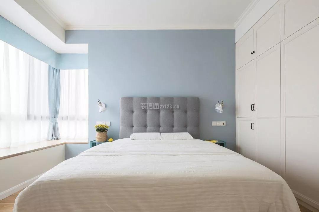 2018现代简约风格卧室飘窗设计图片图片