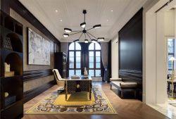 美式別墅辦公書房創意燈具設計圖片