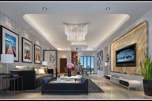 翠林苑140平米现代简约四居装修效果图