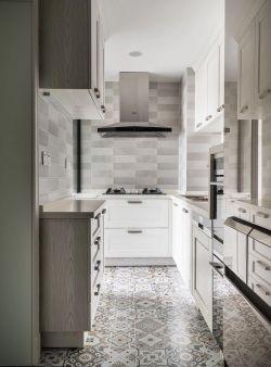 輕奢美式風格廚房櫥柜設計圖片