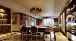 東方豪苑110平米歐式風格餐廳裝修案例