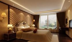 東方豪苑110平米歐式風格臥室裝修案例