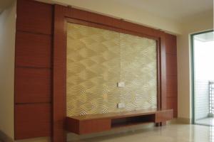 中澳豪庭160平米中式风格装修实景图