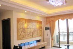 锦绣香江150平米中式四居装修实景图