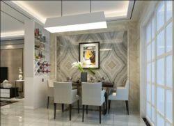 現代風格180平米四居餐廳隔斷裝修效果圖