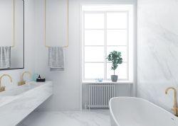 2018北歐風格123平米三居衛浴間背景墻裝修圖片