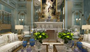 欧式新古典客厅装修效果图 欧式新古典客厅装修