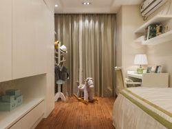 時尚簡潔兒童臥室整體布置圖片