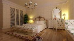 中建芙蓉嘉苑115平米三居室歐式風格臥室裝修效果圖