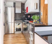北欧单身小公寓厨房布置图片