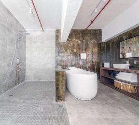 创意浴室装修效果图