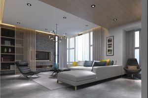 月珑湾豪庭270平米现代简约风格效果图