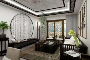 新景豪庭100平米新中式设计方案
