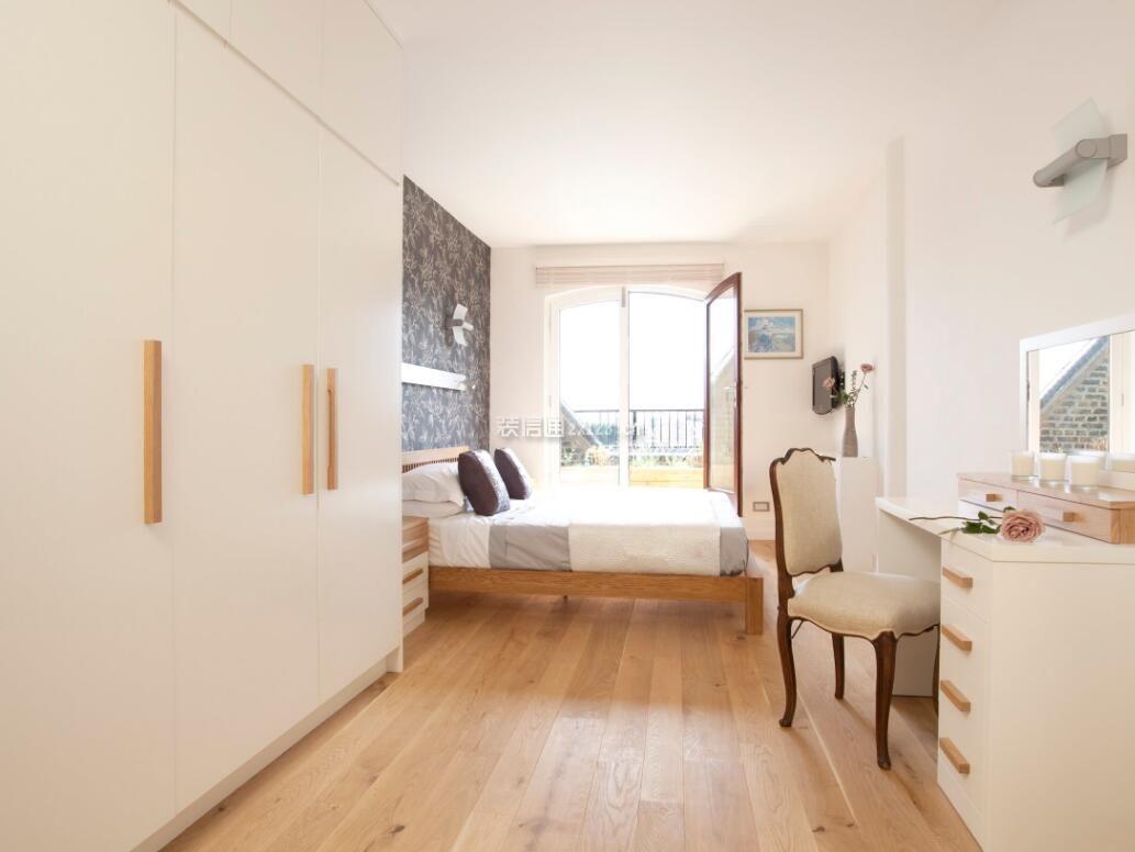 长方形卧室白色衣柜设计家装图片图片