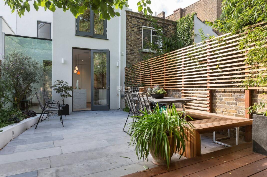 家庭小别墅简约庭院设计效果图赏析