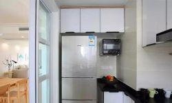 北歐簡約風格120平米三居廚房設計圖片