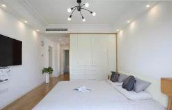 北歐簡約風格120平米三居臥室設計圖片
