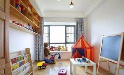 北歐簡約風格120平米三居兒童房設計圖片