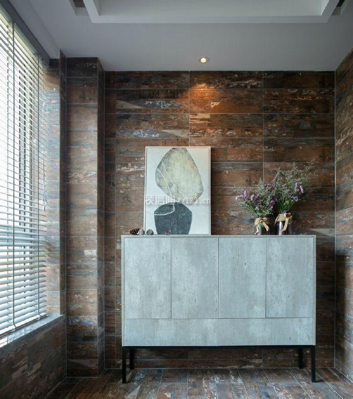 现代简约室内储物柜人物墙设计图片毕业设计素材背景图片