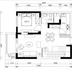 150平方米復式樓戶型圖-每日推薦