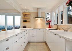敞開式U型廚房裝修實景圖一覽