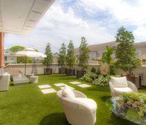 别墅室外阳台花园装饰设计图片赏析