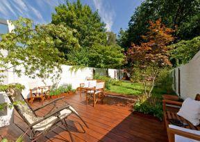 別墅花園圍墻設計效果圖 家庭別墅花園設計