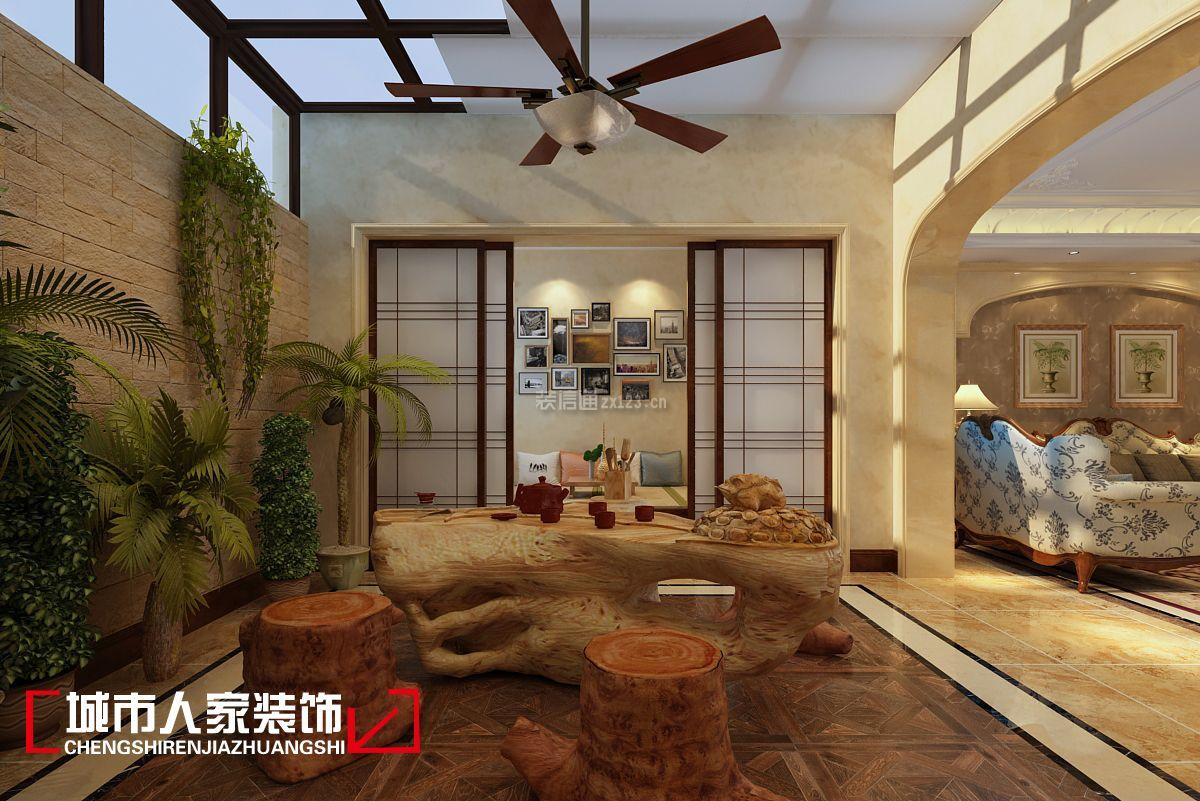 阳台戛纳方案远洋176平美式风格复式阳光房设建筑设计资质需要小镇不图片