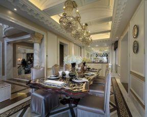 別墅餐廳裝修設計效果圖片大全 2018別墅餐廳裝修設計效果圖片 2018高檔別墅餐廳裝修效果圖