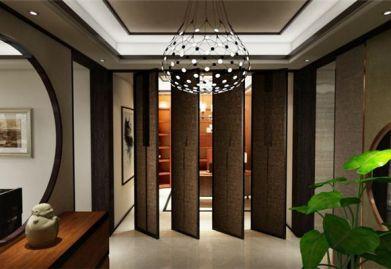 珠海华发又一城141平米三居室中式风格ballbet贝博网站案例 格调雅致