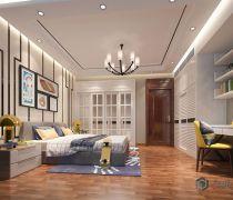 两室两厅卧室家具设计效果图