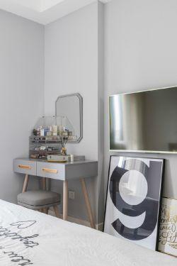 北歐風格臥室家具梳妝臺圖片