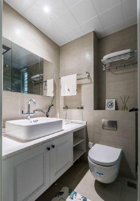 北欧风格卫生间浴室柜设计图