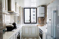 輕奢風格廚房櫥柜裝修圖欣賞