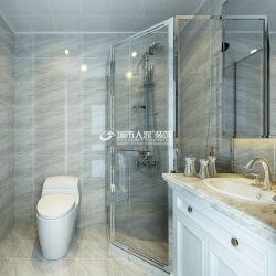 簡歐風格衛生間整體淋浴房裝修