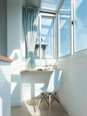 北欧风格小户型封闭式阳台装修设计