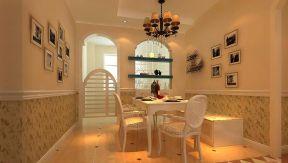 中池连华97平两居餐厅田园风格门设计图片杭州无v餐厅贷款装修利率图片