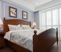 汇宇和庭199平美式卧室设计