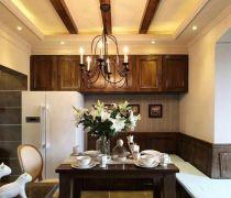 汇宇和庭199平美式餐厅设计
