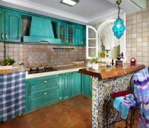 厨房橱柜颜色搭配设计家装效果图大全