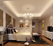 雍和家园125平米三居现代简约卧室装修案例